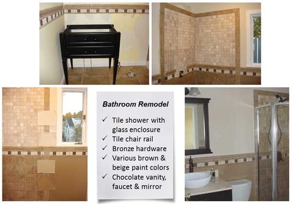 Key elements of bathroom remodel, one of the most popular remodeling projects