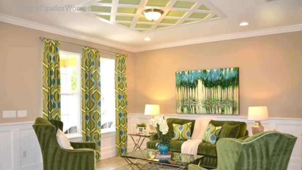 interior trim from the ceiling to the floor, can add just the right touch to a room