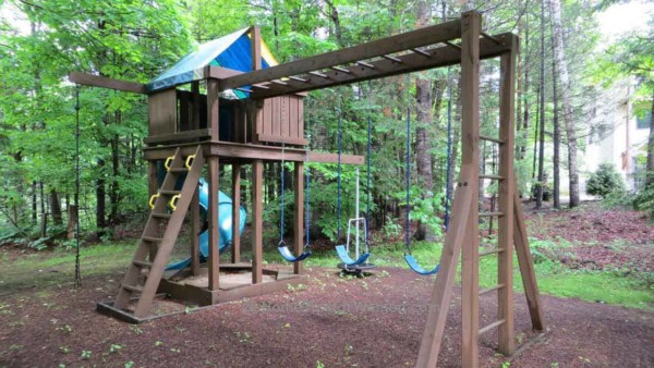 installing a swing set isn't trivial so plan your schedule (at least 2 full weekends for larger sets) accordingly