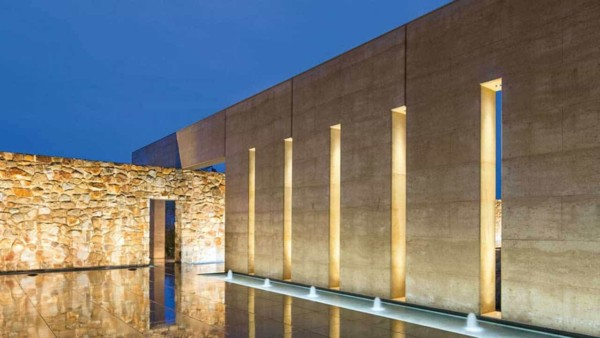 the Garangula Art Gallery built with rammed earth in NSW by RammedEarthConstructions in Australia