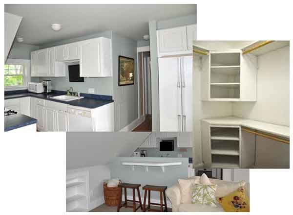 recycling kitchen cabinets around the house