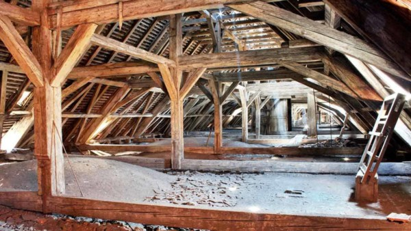 when you have a roof leak, you can learn more about it's size by inspecting your attic ... to decide if roof repairs are worth it, or maybe it's time for a new roof
