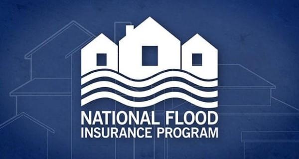 Logo for US government's National Flood Insurance Program (NFIP)
