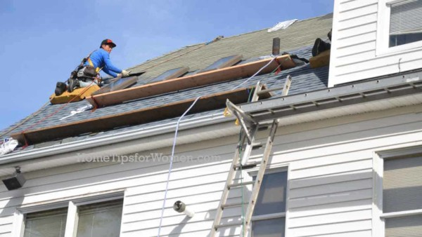 to really understand what's happening on your roof, you've got to climb a tall ladder just like those used to make roof repairs or put on a new roof