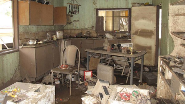 Kitchen & all it's contents lost due to a flood ...