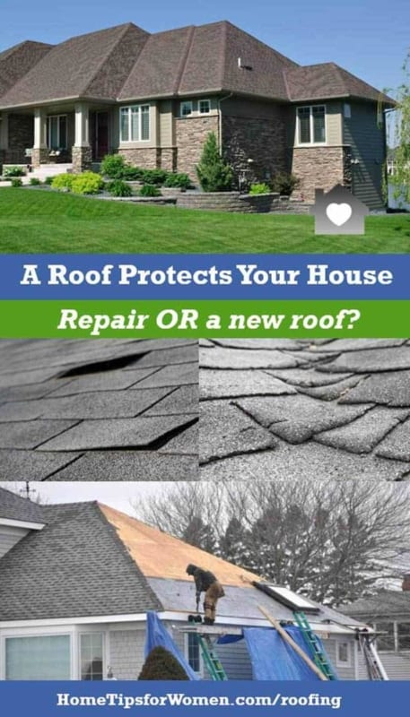when your roof is newer, roof repairs should solve most problems but as your roof ages & there are more problems, you will need a new roof