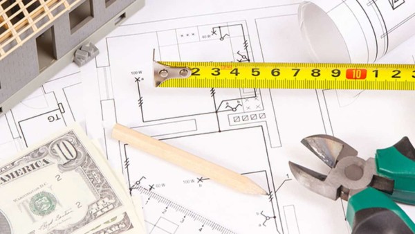 building costs are determined by size (square feet) cost for materials & labor