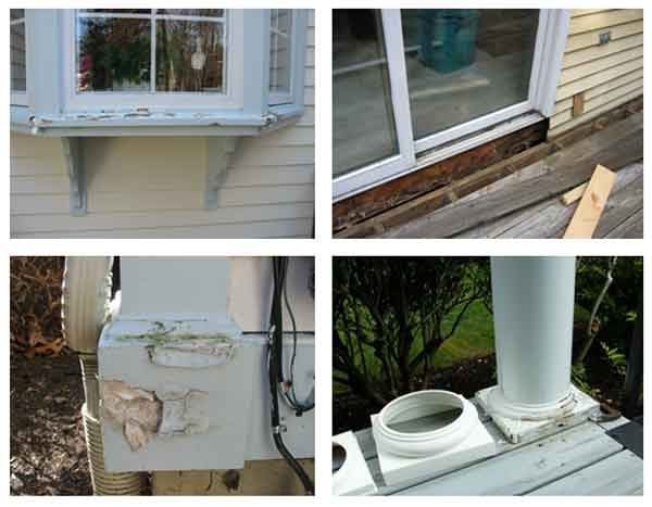 painting will prevent wood rot & unnecessary home repair jobs