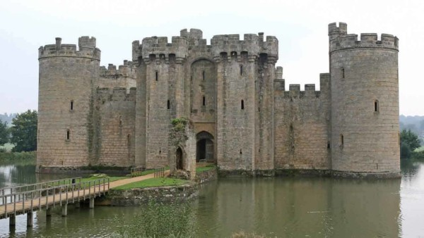 home security today versus castle moats in years past
