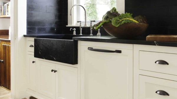 soapstone is one of the high-end countertop materials ...
