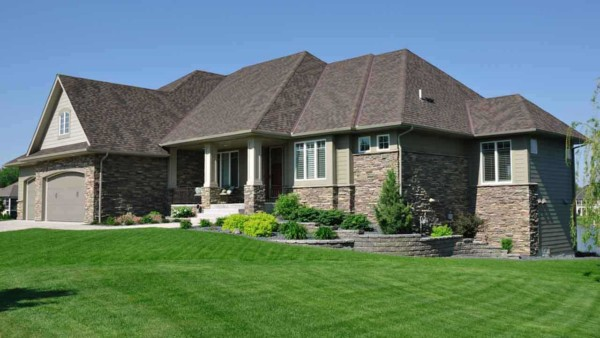 brick & stone siding are popular house siding options, beautiful & cost effective where lumber (forests) are scarce