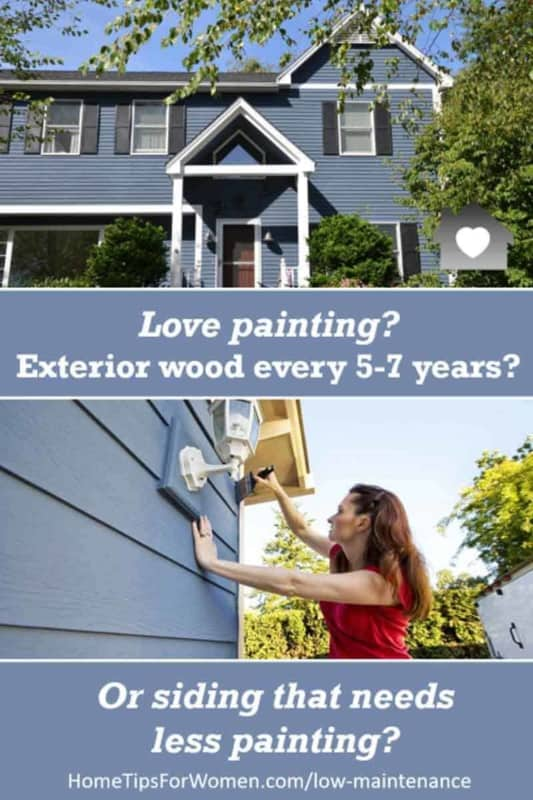 wood siding is expensive to install AND maintain so it's worth checking out low maintenance siding choices too