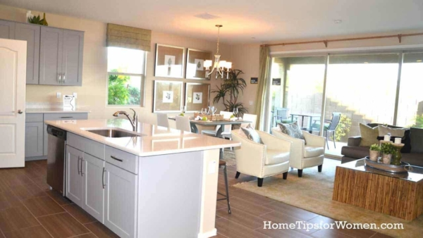 most of today's kitchen renovation ideas start with removing a wall to create an open floor plan