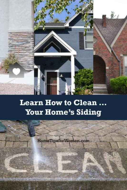 regardless of your siding type, you want to learn how to clean siding to keep your home looking fresh & beautiful