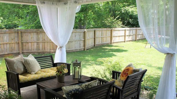 when you're adding an outdoor kitchen, don't forget to check out decorating ideas too