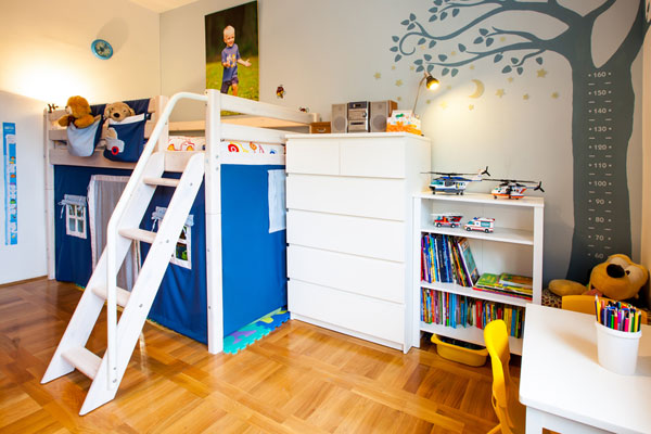 parents focus on kids bedrooms but where do your kids spend the most time?