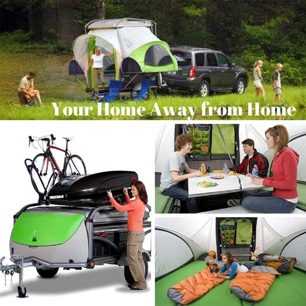 many ways to enjoy a pop up tent
