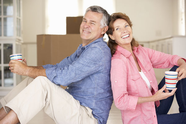 empty nesters have to decide if they're staying or moving