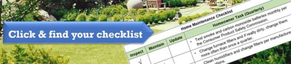 a summer home maintenance checklist helps you cover all the potential problems your home might have before they happen