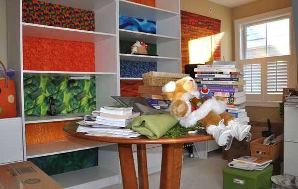 getting organized at home starts with listing what you have to be stored