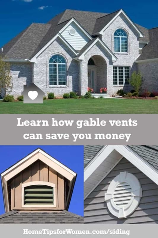 gable vents are the old fashion way to exchange moist attic air with fresh air from outside