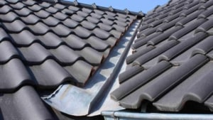 there are many other types of flashing on a roof like the valley flashing shown here