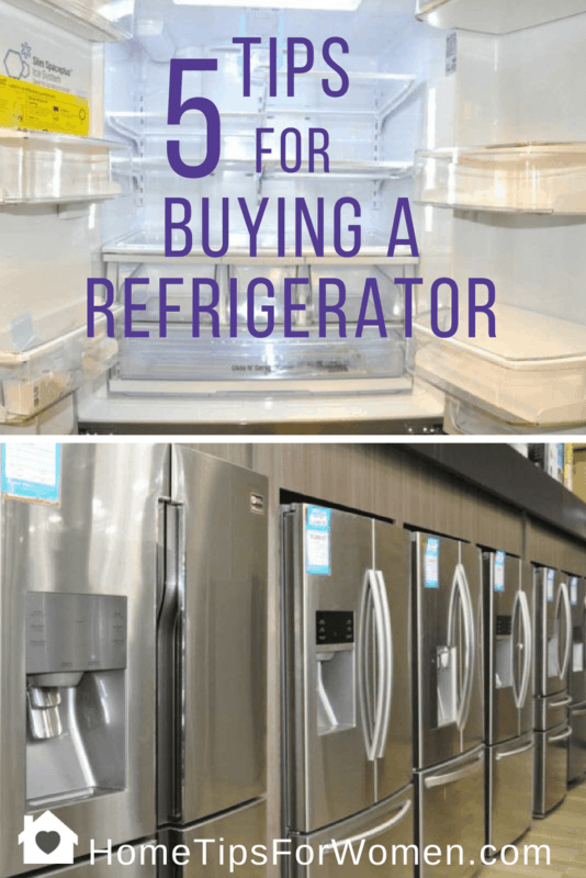 five tips for buying a refrigerator