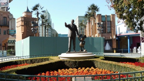 Disney uses a go away green color to make things disappear visually ...