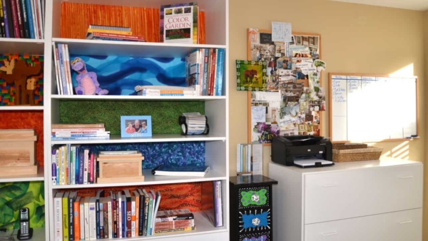 home offices are one of the best spare bedroom ideas, especially for those working at home