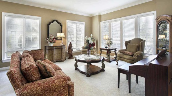 every homeowner has a different decorating style, some traditional like this living room