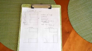 before you move furniture, it helps to plan your layout on paper