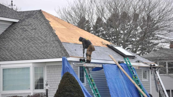 roof repair versus getting a new roof is a big decision