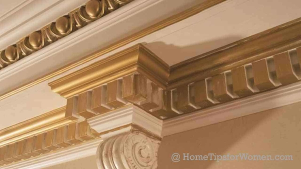 luxury homes include a lot more custom millwork like this dentil trim