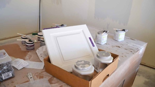 sample paint colors come in a satin finish which is mid-range in terms of paint finishes