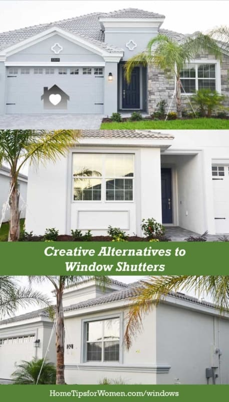 before you buy window shutters, look for a few alternatives to decorating your home to create curb appeal that fits your personality