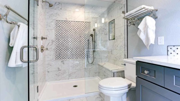 they're beautiful but don't think you can escape shower door leaks when you install a frameless shower door