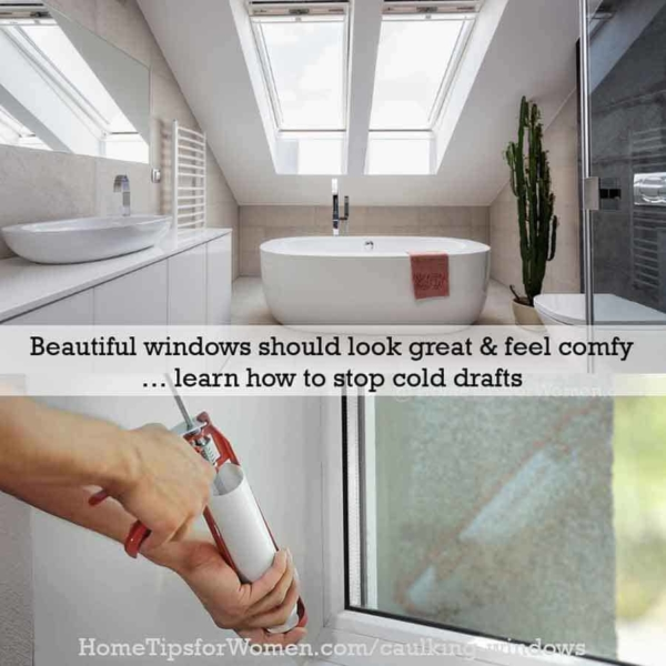 beautiful windows need preventive home maintenance like caulking windows