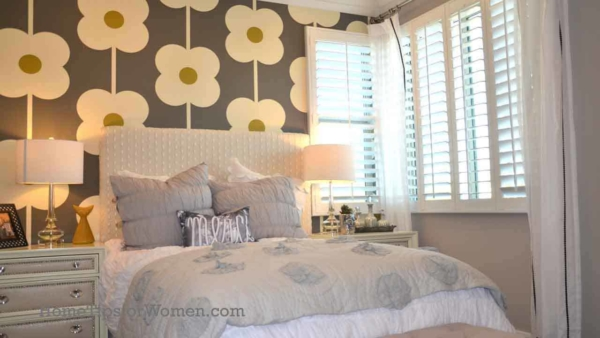 it's fun decorating a guest bedroom but there might be better spare bedroom ideas for this space
