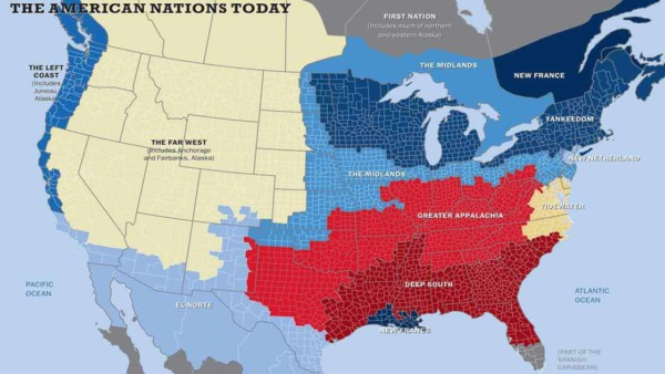this map shows how community values differ across the US