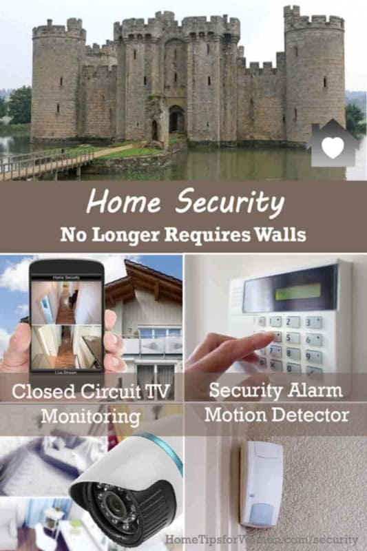 home security is a lot easier today because you don't need to build walls or moats, LOL