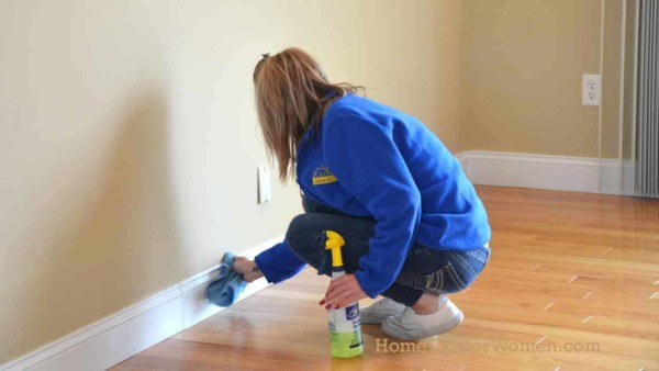 staging a house should include a deep clean as buyers will be turned off by dust & cobwebs