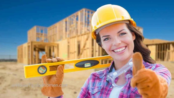 there are thousands of construction jobs & many of them are perfect for women once they develop the basic skills that everyone in the trades have