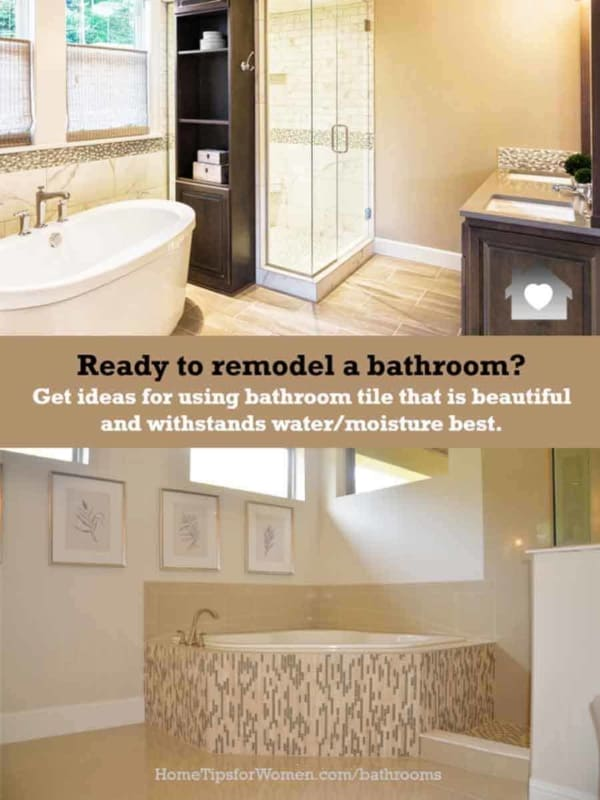 remodeling is lots of fun & challenging too; check our articles for bathroom tile ideas