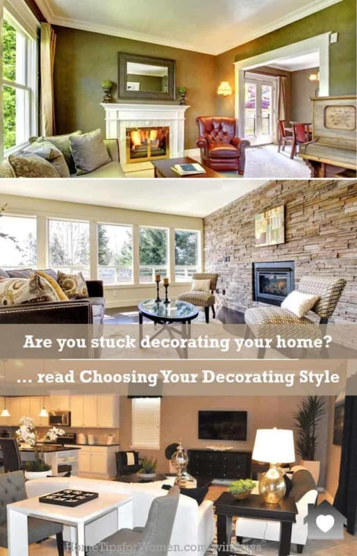 don't worry about picking your favorite decorating style today, and letting it evolve over time as your interests change