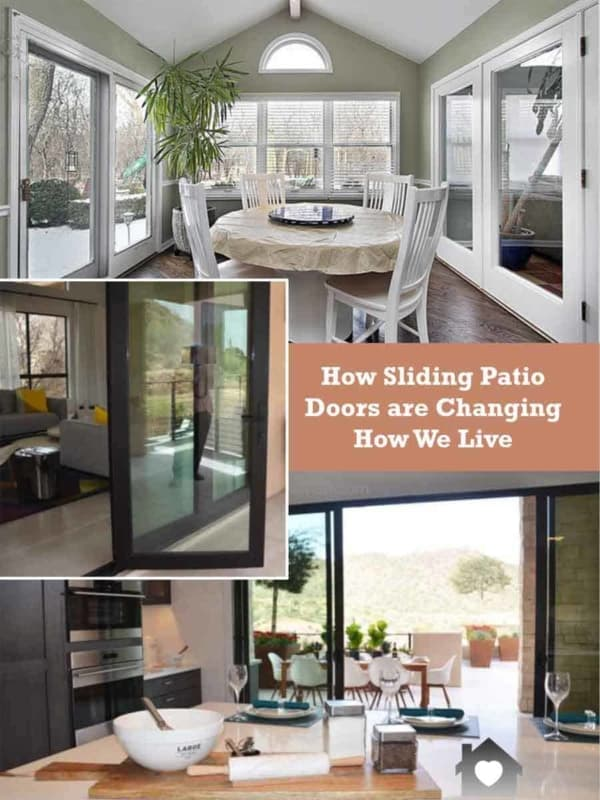 we've had sliding patio doors for years & they're gaining popularity, including more than 2 panels to form complete glass walls