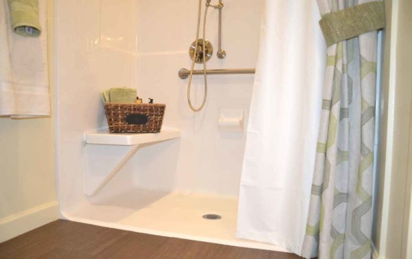 bathrooms are especially difficult to renovate for aging in place