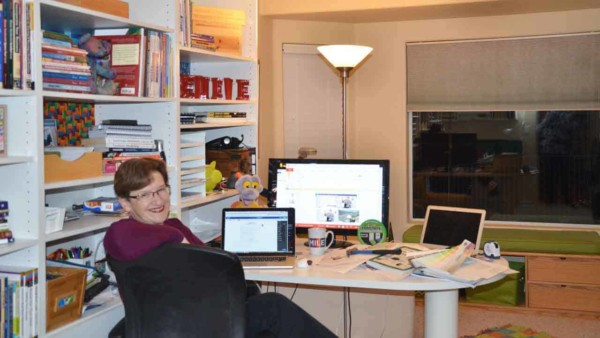 home office design should start with where your desk will sit, and what it will face