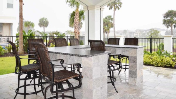 More seating means you can entertain more people at your favorite family vacation resorts