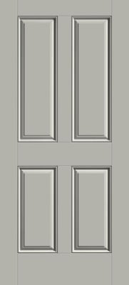 Thermatru front entry fiberglass door with 4 panels is one of several low cost front door styles you can buy to replace an existing door