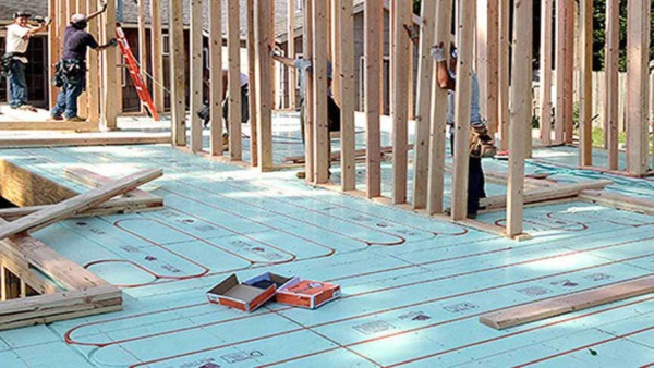 A Warmboard Radiant Floor Heating System Can Heat Large Spaces With A Lower  Monthly Heating Bill. With The Integrated Aluminum Transferring Heat From  The ...